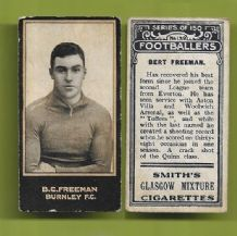 Burnley Bert Freeman 139